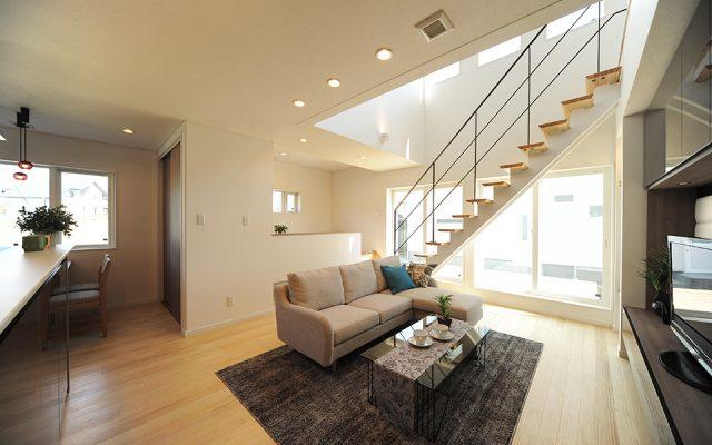 「空間をデザインする家~子どもの感性を自由に伸ばす家~」2015桜台モデルハウス