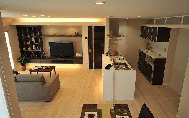 「空間をデザインする家」2014条里モデルハウス